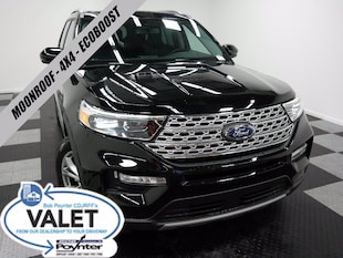2020 Ford Explorer Limited 4x4 Ecoboost Moonroof SUV
