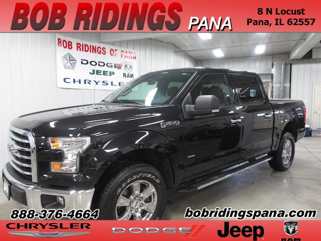 2015 Ford F-150 XLT 4x4 w/ 3.5 L Eco-Boost Truck SuperCrew Cab