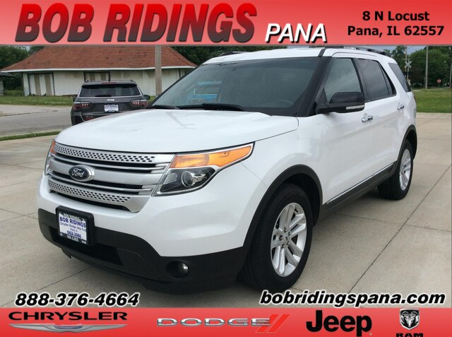 2013 Ford Explorer XLT W/ Leather SUV