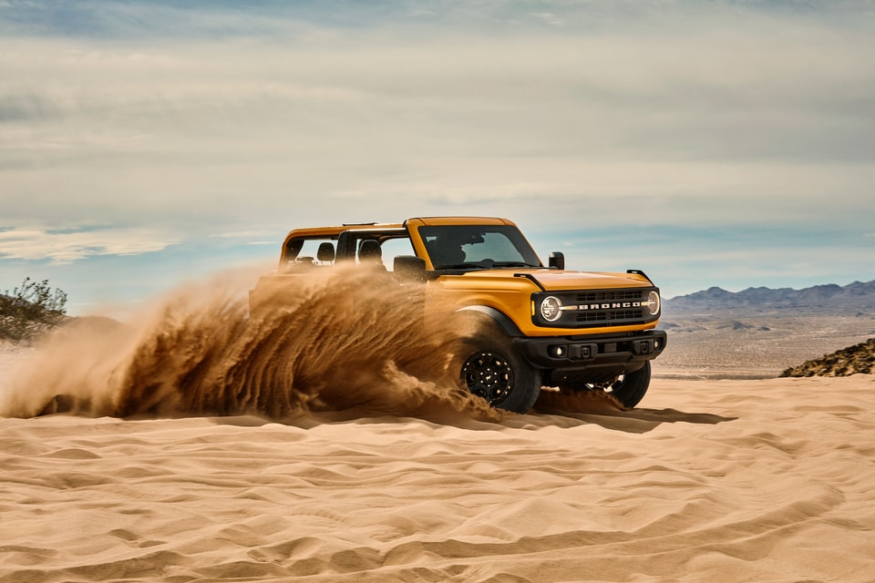 Shop New Ford Bronco in Jacksonville, IL