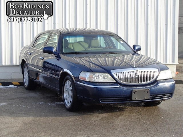 Used 2009 Lincoln Town Car For Sale Decatur Il