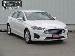 Used 2019 Ford Fusion Hybrid SEL Sedan