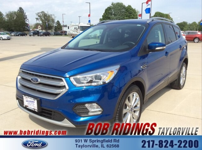 Bob Ridings Taylorville >> Used 2017 Ford Escape For Sale At Bob Ridings Taylorville