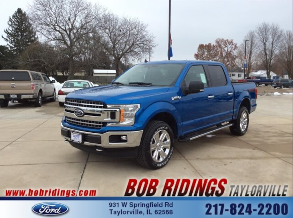 Bob Ridings Taylorville >> New 2019 Ford F 150 For Sale At Bob Ridings Taylorville