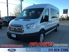 2019 Ford Transit-350 XLT w/Sliding Pass-Side Cargo Door Wagon Medium Roof Passenger Van
