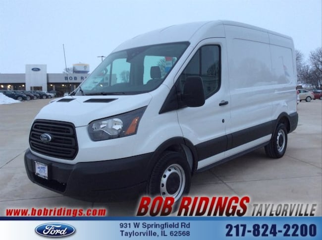 2019 Ford Transit-150 w/Sliding Pass-Side Cargo Door Van Medium Roof Cargo Van