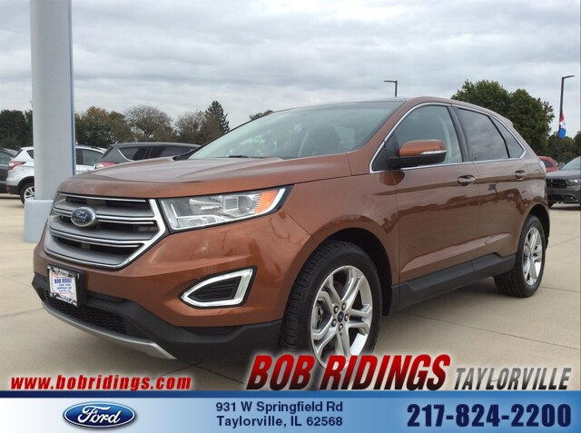 2017 Ford Edge Titanium AWD w/Nav & Moonroof SUV