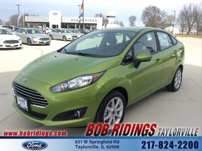 Bob Ridings Taylorville >> New 2019 Ford Fiesta For Sale At Rick Ridings Ford Inc