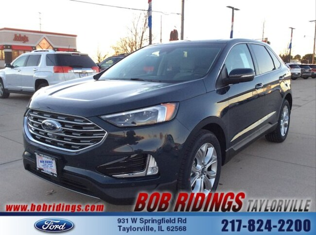 Bob Ridings Taylorville >> New 2019 Ford Edge For Sale At Bob Ridings Taylorville Vin