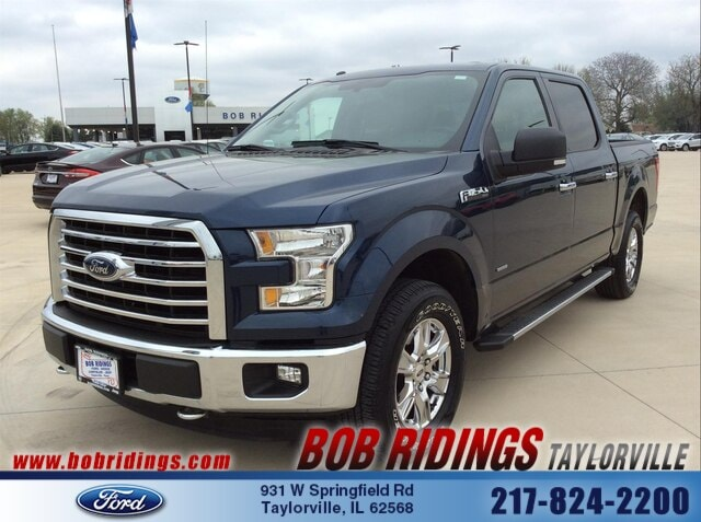 2016 Ford F-150 XLT 4x4 Truck SuperCrew Cab