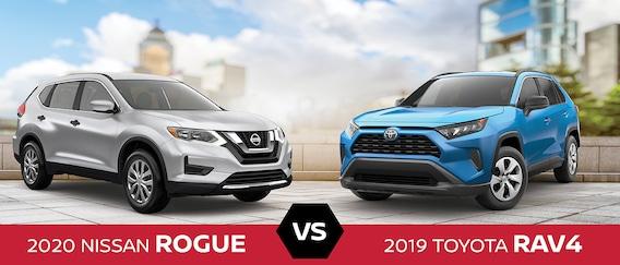 Nissan Rogue Vs Toyota Rav4 >> 2020 Nissan Rogue Vs 2019 Toyota Rav4 Size Specs Design