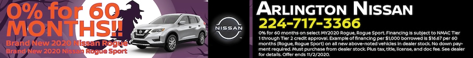 0% APR for 60 MONTHS!!