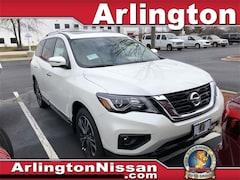 New 2020 Nissan Pathfinder Platinum SUV in Arlington Heights, IL
