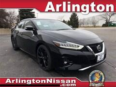 New 2020 Nissan Maxima SR Sedan in Arlington Heights, IL