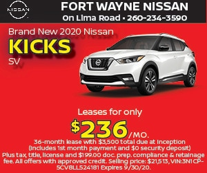 Brand New 2020 Nissan KICKS SV