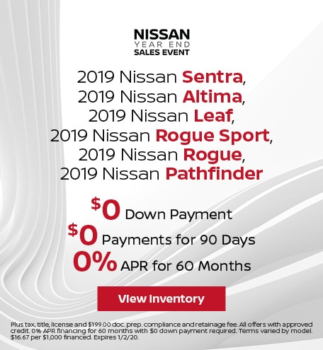 2019 Vehicle Offer