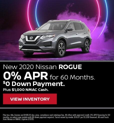 New 2020 Nissan Rogue | APR Offer