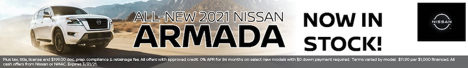All-New 2021 Nissan ARMADA