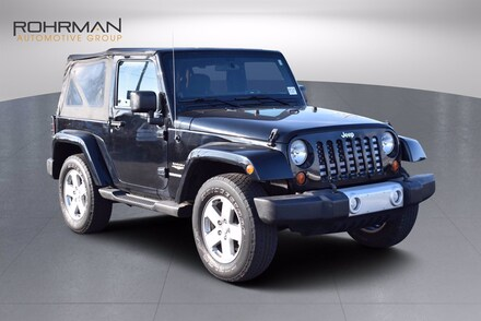 2012 Jeep Wrangler Sahara SUV