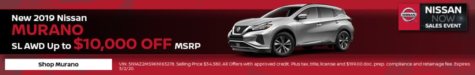 New 2020 Nissan Murano | MSRP Offer