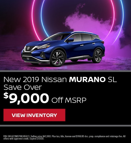 New 2019 Nissan Murano | Finance Offer