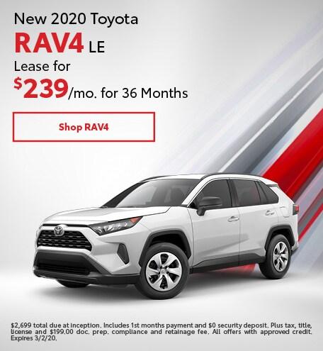 New 2020 Toyota RAV4 | Lease Offer