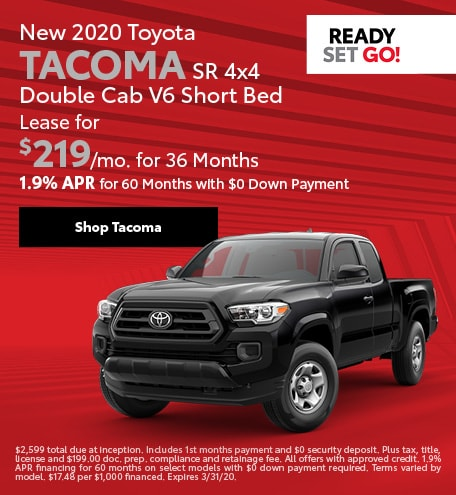 New 2020 Toyota Tacoma | Lease Offer