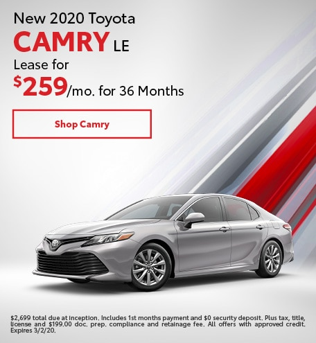 New 2020 Toyota Camry | Lease Offer