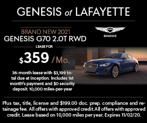Brand New 2021 Genesis G70 2.0T RWD