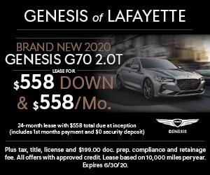 Brand New 2020 GENESIS G70 2.0T