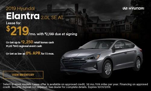 2019 Hyundai Elantra 2.0L SE AT