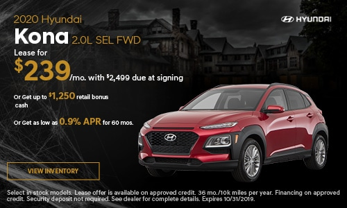 2020 Hyundai Kona 2.0L SEL FWD