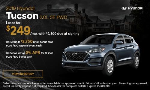 2019 Hyundai Tucson 2.0L SE FWD