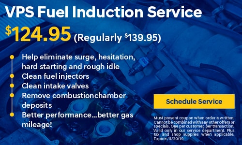 VPS Fuel Induction Service