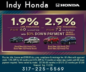 1.9% APR for 60 Months With $0 Down Payment