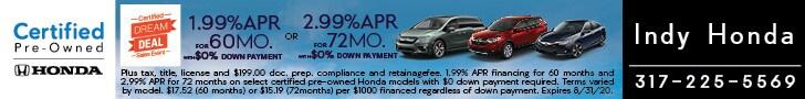 Honda Dream Deal Sales Event (Honda Certified )