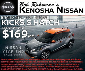 Brand New 2020 Nissan KICKS S HATCH