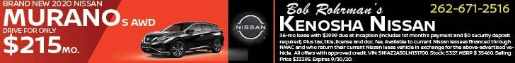 Brand New 2020 Nissan MURANO S AWD