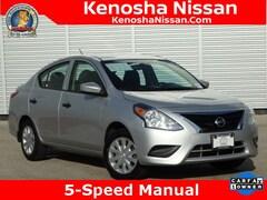 Used 2017 Nissan Versa 1.6 S Sedan in Kenosha, WI