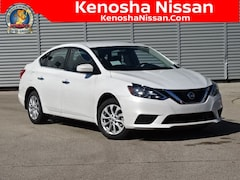 New 2019 Nissan Sentra SV Sedan in Kenosha, WI