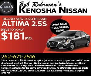 Brand New 2020 Nissan ALTIMA 2.5 S