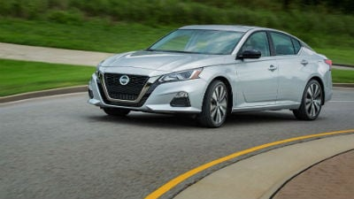 Gray 2019 Nissan Altima