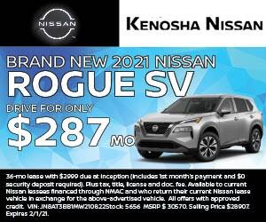 Brand New 2021 Nissan Rogue SV AWD