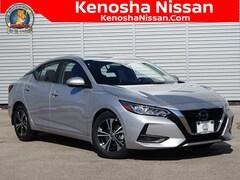 New 2020 Nissan Sentra SV Sedan in Kenosha, WI