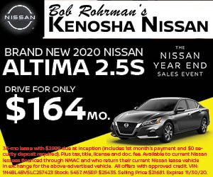 Brand New 2020 Nissan ALTIMA 2.5 S