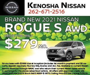 Brand New 2021 Nissan Rogue S AWD