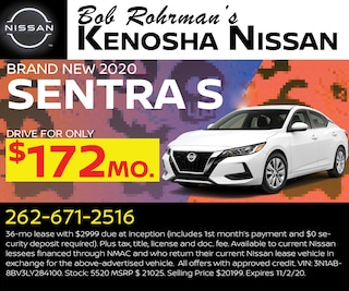 Brand New 2020 Nissan SENTRA S