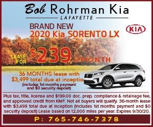 Brand New 2020 Kia SORENTO LX