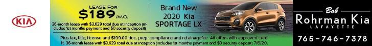 Brand New 2020 Kia SPORTAGE LX