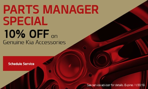 Parts Manager Discount